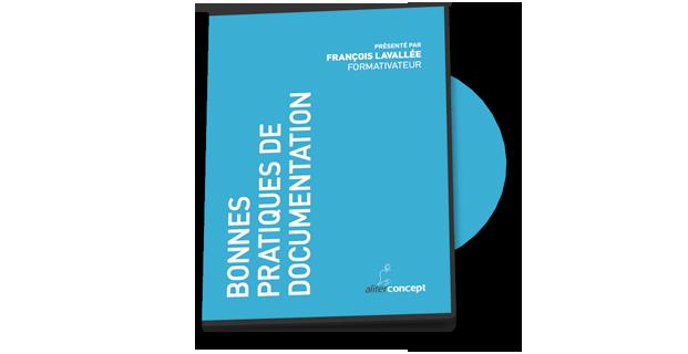 DVD Bonnes Pratiques de Documentation
